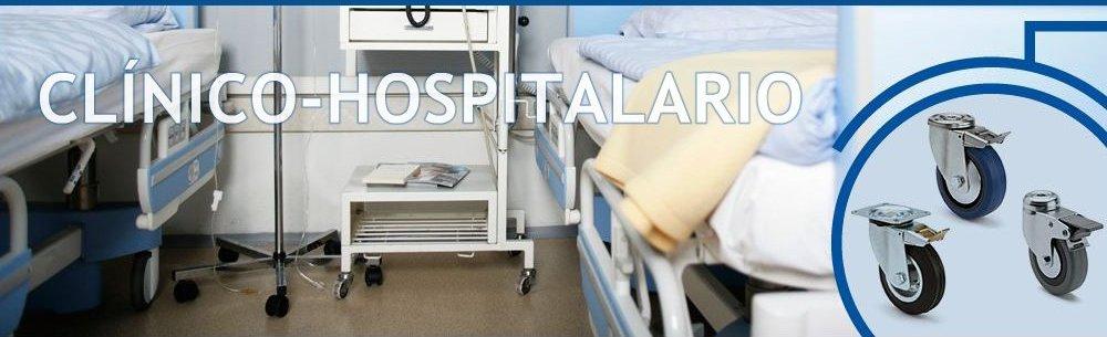 Ruedas para hospitales